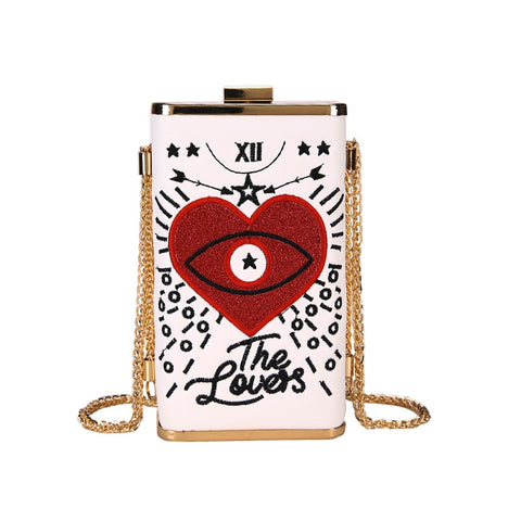 hautegoths - The Lovers Tarot Purse