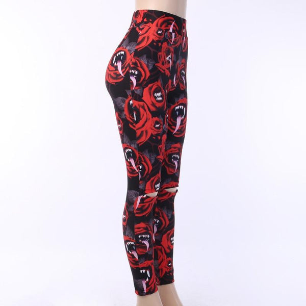 hautegoths - Cannibal Flower Leggings