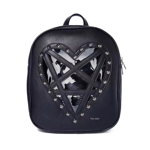 hautegoths - Pentagram Heart Backpack