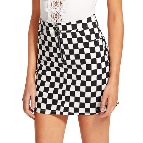 hautegoths - Checkered Skirt