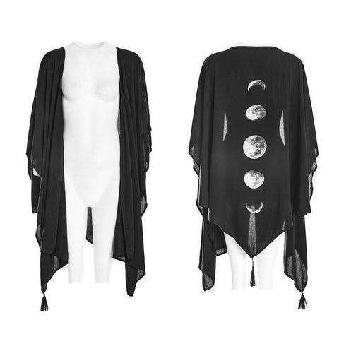 hautegoths - PUNK RAVE Moon Phase Shrug