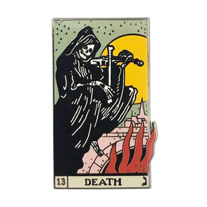 hautegoths - Death Tarot Card Enamel Pin