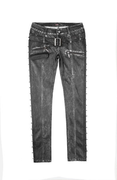 hautegoths - Distressed Spike Pants