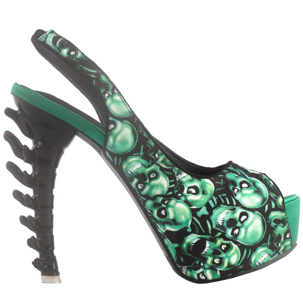 hautegoths - Spinal Tap Zombie Peep Toe