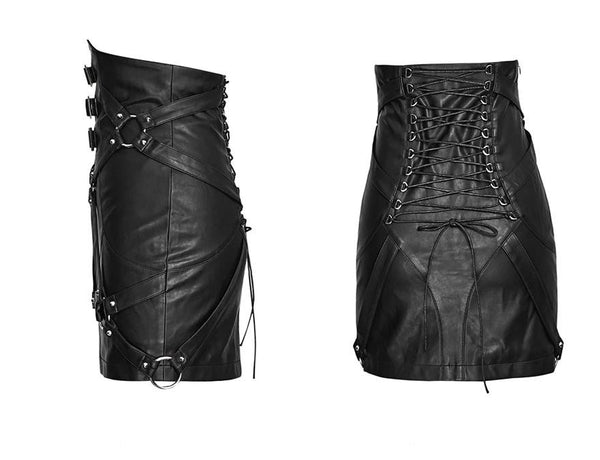 hautegoths - PUNK RAVE Bondage Skirt