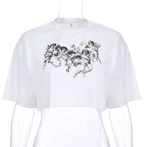hautegoths - Cherub Party Crop Top