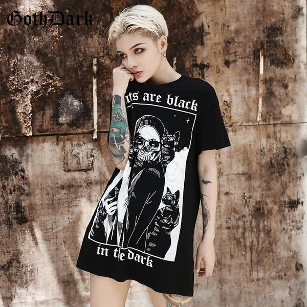 hautegoths - All Cats Are Black Tee