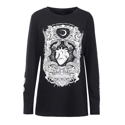 hautegoths - Never Surrender Long Sleeved T Shirt