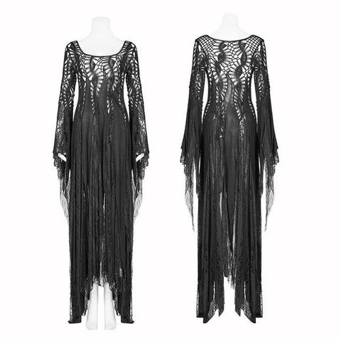 hautegoths - PUNK RAVE Gothic Elegance Tattered Gown
