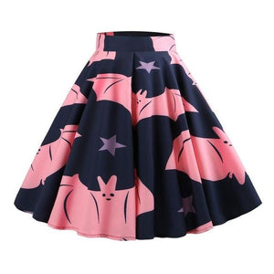 hautegoths - Fat Bat Harajuku Swing Skirt