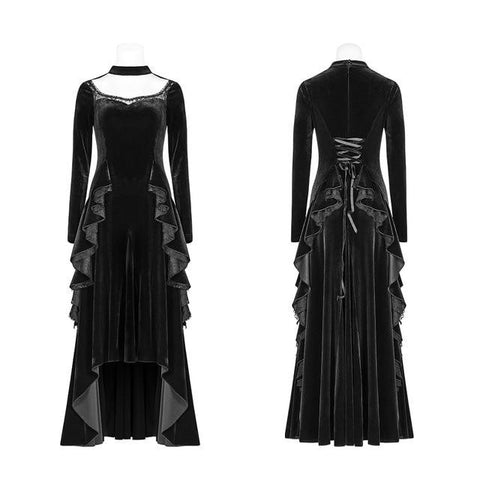 hautegoths - Ruffled Victorian Gown