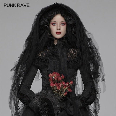 hautegoths - PUNK RAVE Veiled Hat