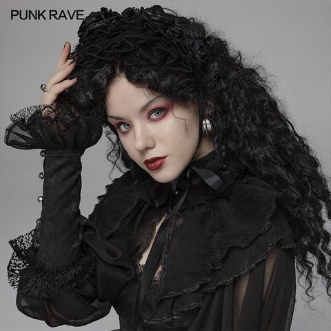 hautegoths - PUNK RAVE Lace Head Band
