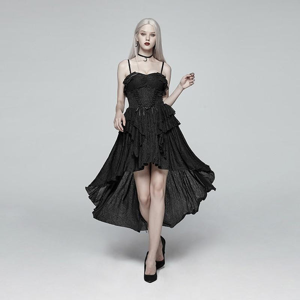 hautegoths - PUNK RAVE Hi-Low Retro Dress