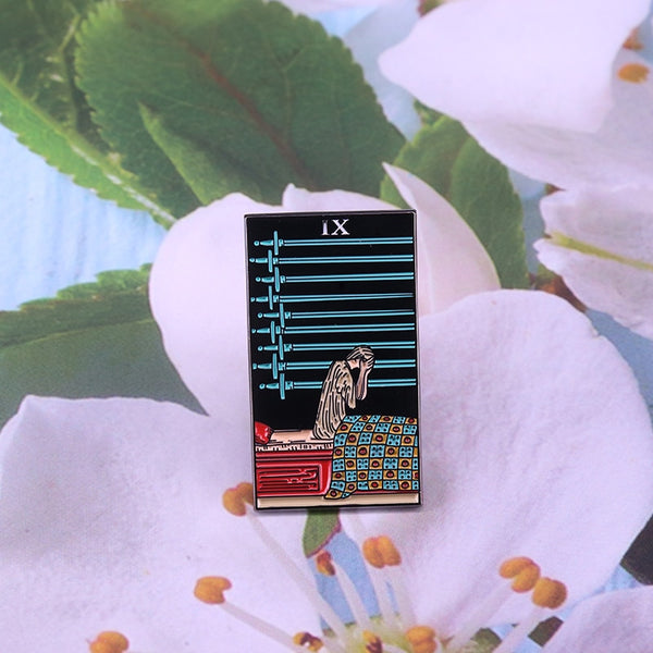 hautegoths - Nine of Swords Enamel Pin