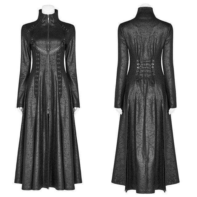 hautegoths - PUNK RAVE Long Trench Coat