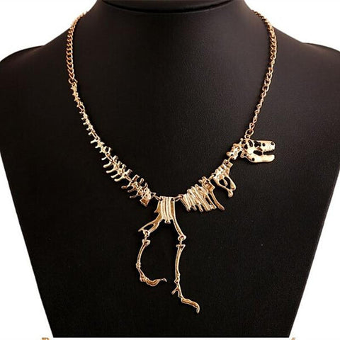 hautegoths - Dino Skeleton Necklace