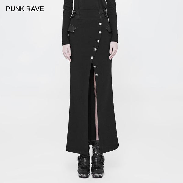 hautegoths - PUNK RAVE Fishtail Skirt