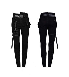 hautegoths - PUNK RAVE High-waisted Skinny Jeans