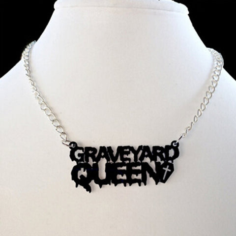 hautegoths - Graveyard Queen Necklace