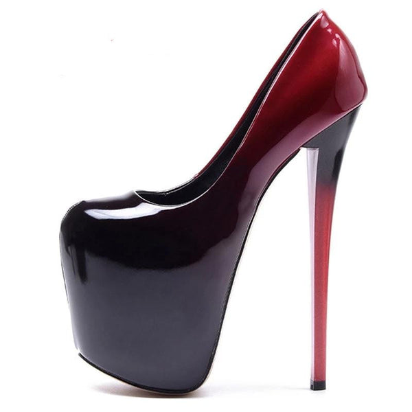 hautegoths - Vampire Super Pumps - Black