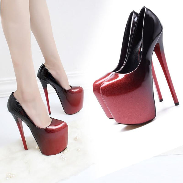 hautegoths - Vampire Super Pumps - Red