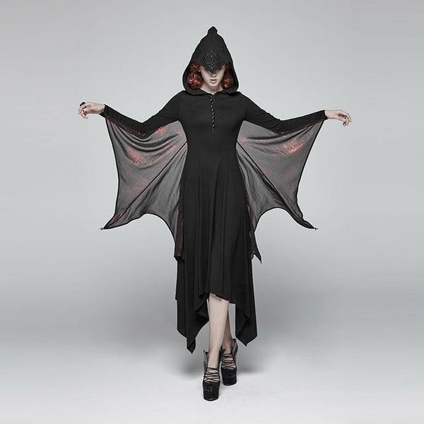 hautegoths - PUNK RAVE Bat Wing Dress