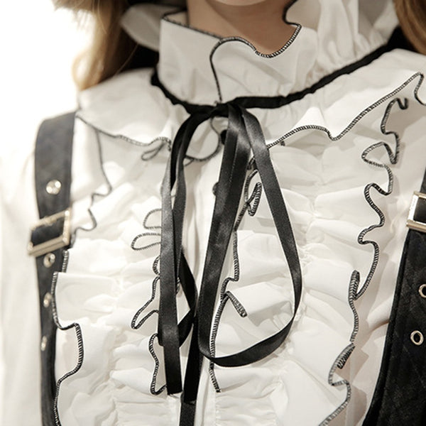 hautegoths - Ruffled Blouse