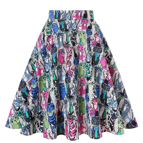 hautegoths - Crazy Cat Lady Skirt