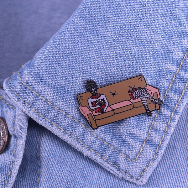 hautegoths - Beetlejuice Pin