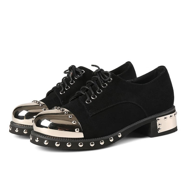 hautegoths - Steel Toe Loafers