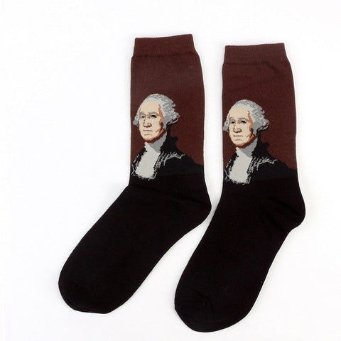 hautegoths - George Washington Socks