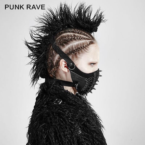 hautegoths - Punk Rave Spiked Mask