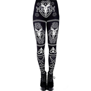 hautegoths - Baphomet Leggings