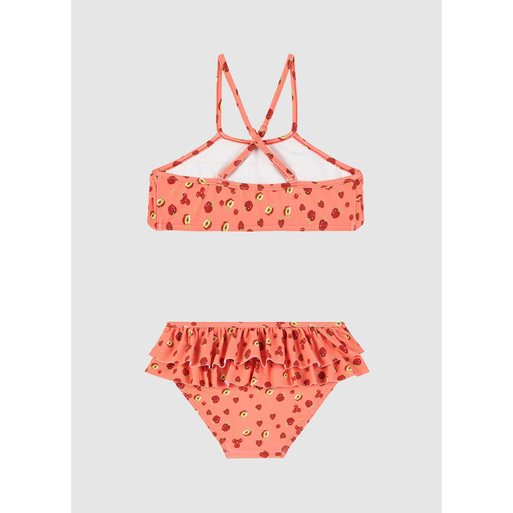 Fruit Punch Frill Tankini