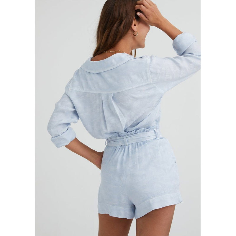Ruffle High Waisted Short