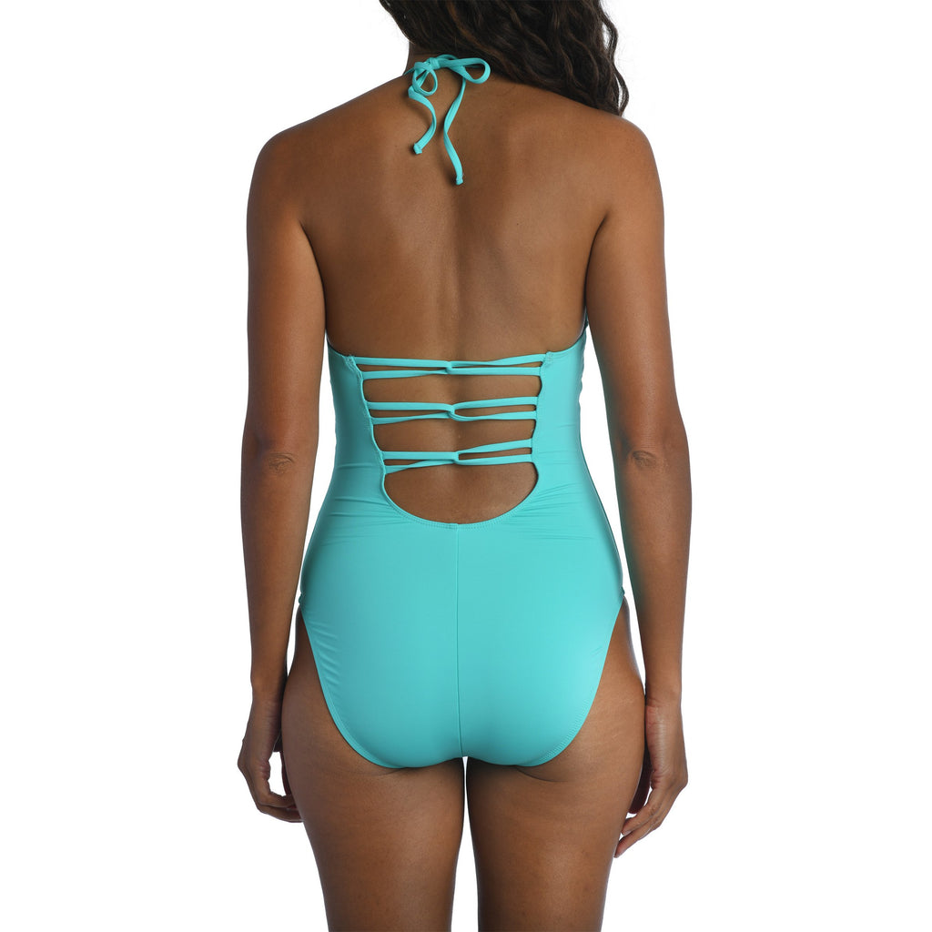 Island Goddess Scoop Front Lingerie One Piece