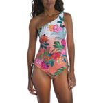 Tropicalia One Shoulder One Piece