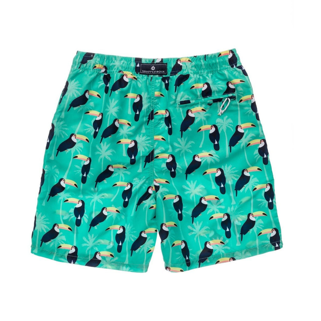 Toucan Talk Swim Trunks