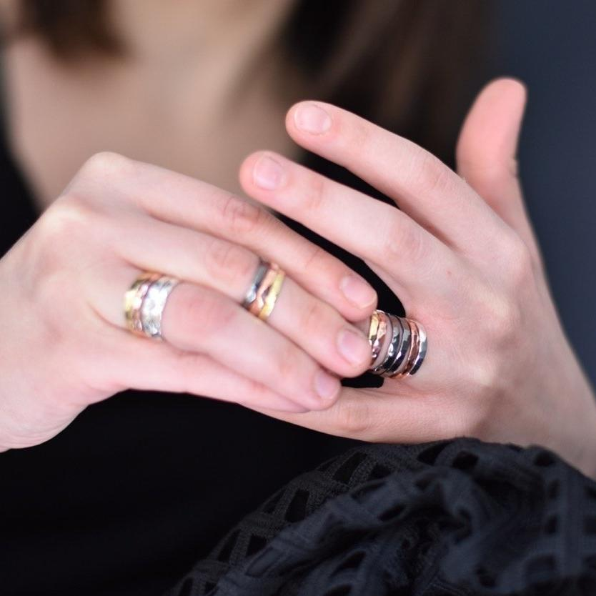 Stackable ring series