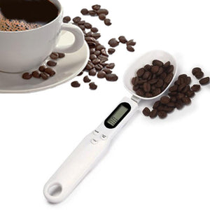 Digital measuring spoon with LCD display