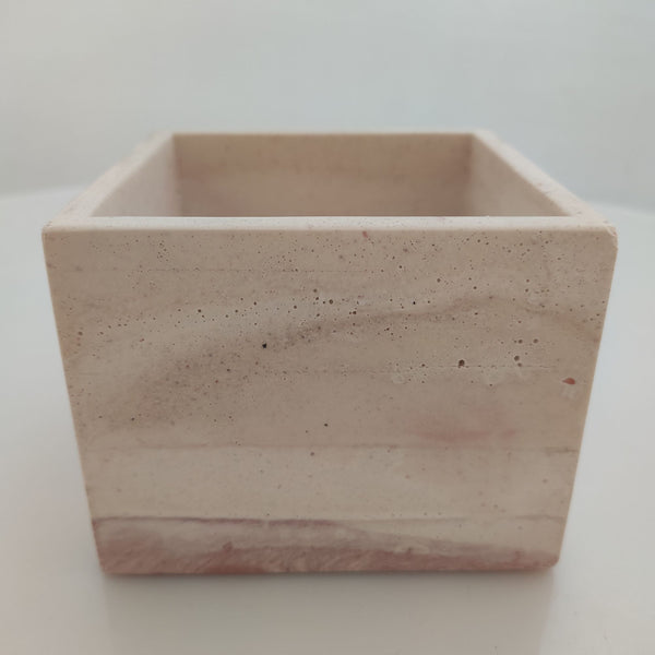 Cubo Rosado - Camaleon-art - concrete shop art