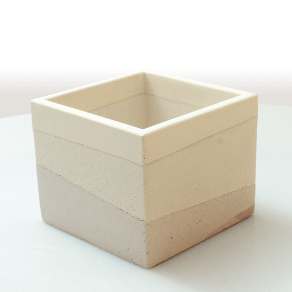 Cubo multicapas - Camaleon-art - concrete shop art