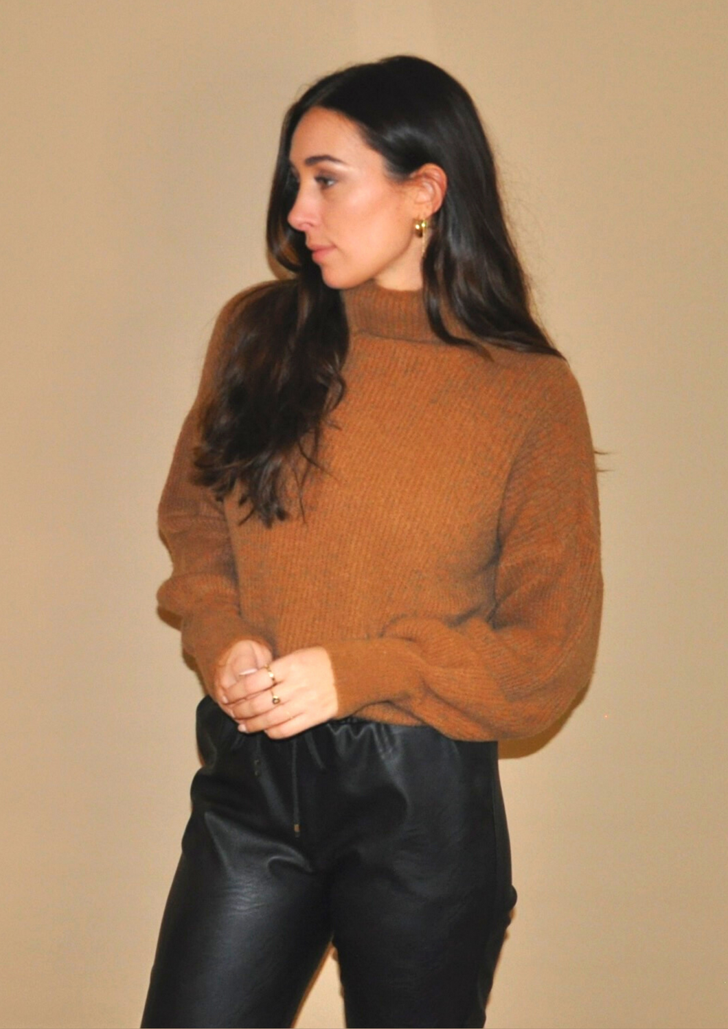 ISABELLE KNIT // BROWN