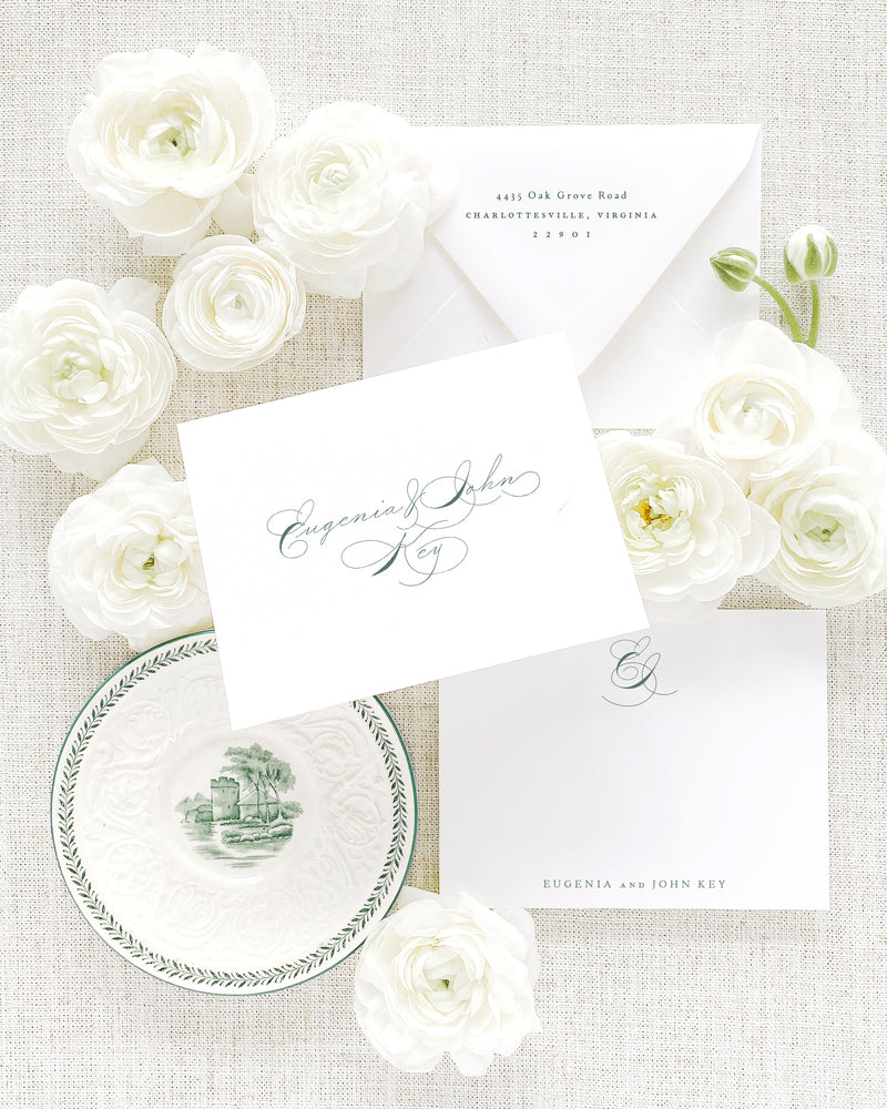 Eugenia Thank You Cards