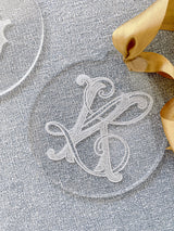 Acrylic Monogrammed Ornament