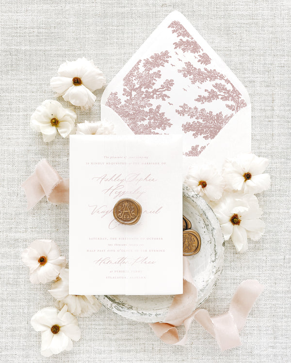 Invitation and Save the Date Envelope Liners