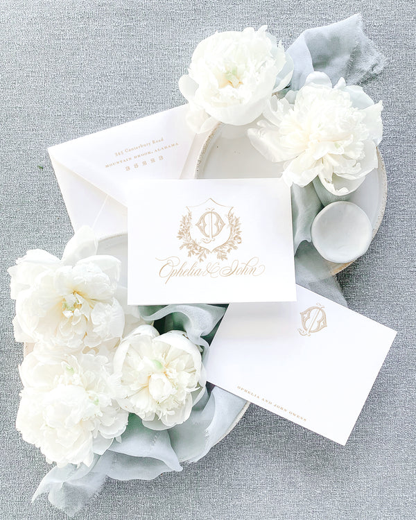 Ophelia Thank You Cards
