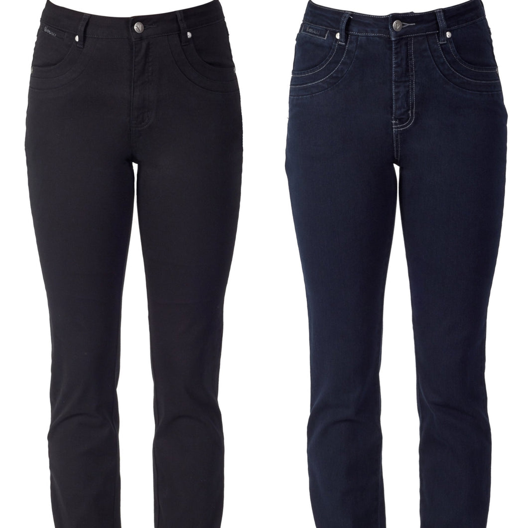 Vassalli - Denim - 9901 Black or Indigo