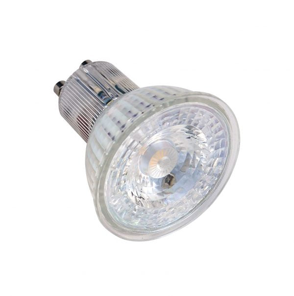 Lampe GU10 GLASS LED 5, 5W 4000K